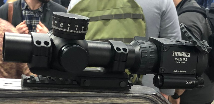 Steiner's MX8i has a ballistic sensor suite. (Photo/Sean Curtis)