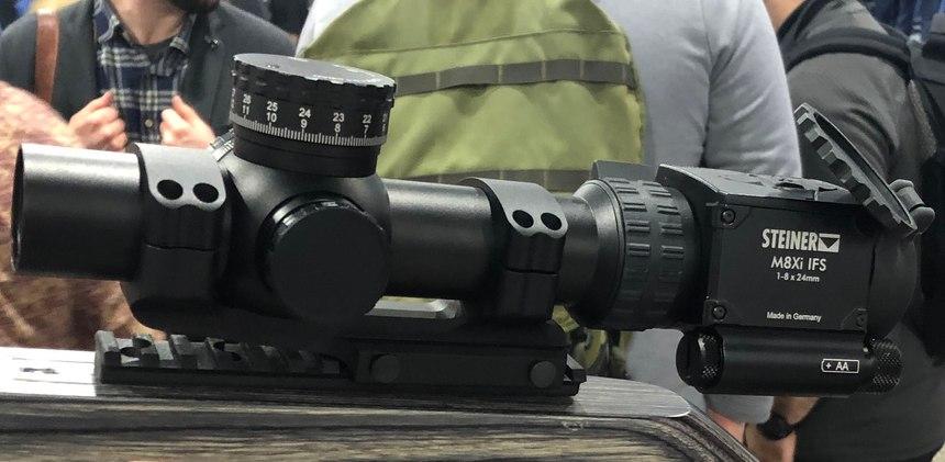 Steiner's MX8i has a ballistic sensor suite.