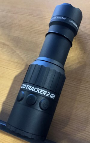 Leupold's LTO-Tracker is the size of a small flashlight. (Photo/Sean Curtis)