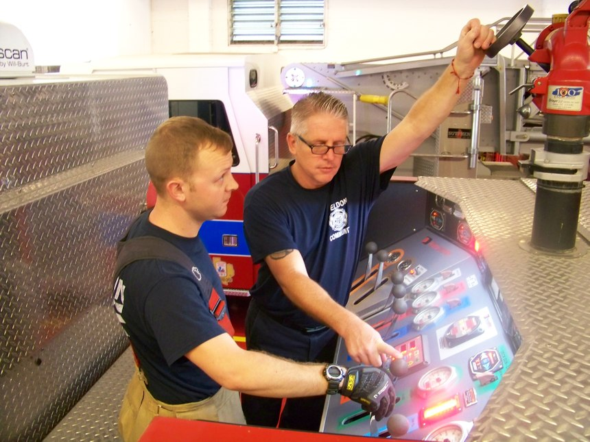 Study pump panel operations on a regular basis. (Photo/Chris DelBello)