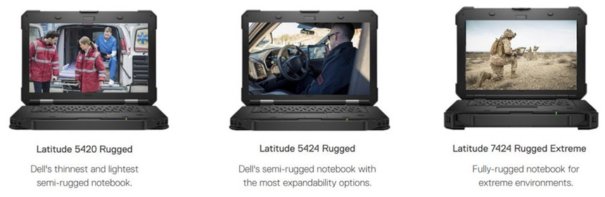 Dell offers a range of rugged laptops and tablets that are purpose-built to withstand rough use while maintaining high performance. (image/Dell)