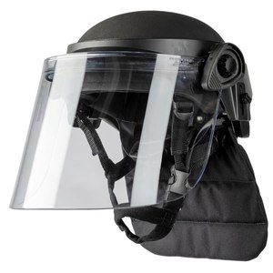The mid-cut style PROTECH Delta 4 helmet is made of aramid ballistic material.