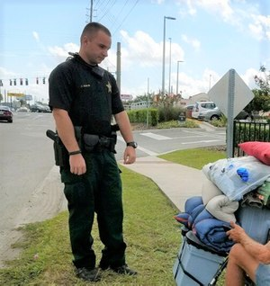 For better or worse, law enforcement agencies find themselves acting as the community mental health resource of last resort. (Photo/Pasco County Sheriff's Office)