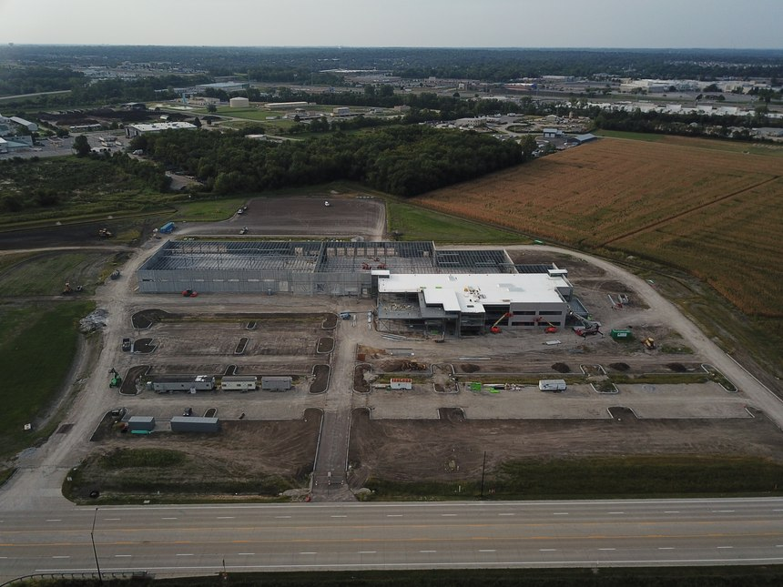 Construction is underway for the St. Charles County Ambulance District's new consolidated campus.