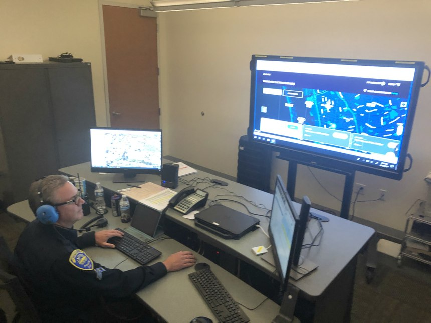 Often the teleoperator will respond to holding calls and clear them without the need to send officers. (Photo/CVPD)