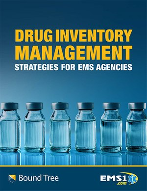 Drug inventory management strategies for EMS agencies (eBook cover)