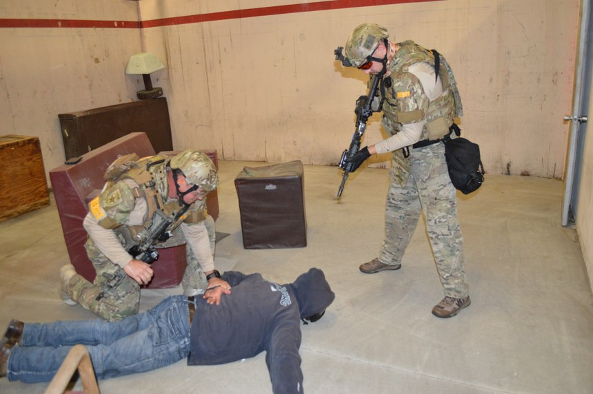 Role players can make or break your training scenarios. You may not want someone with extensive tactical training, as they may prematurely react to your room clearing.
