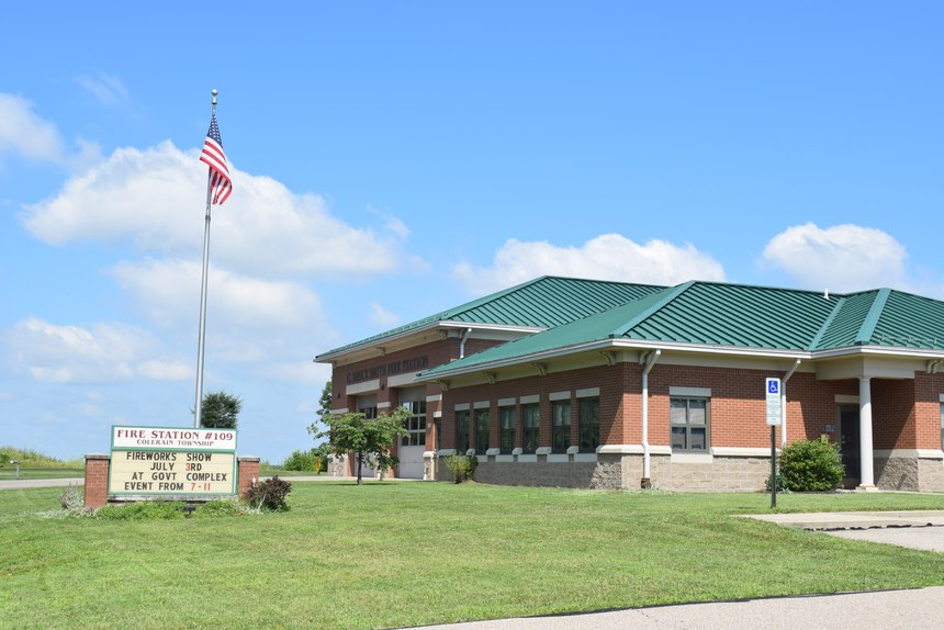 One way to improve visibility to the community is the use of a dual-purpose sign that indicates the name or number of the fire station and serves as an official message board for the fire department, local government or community that can be used to promote an upcoming event, community involvement or your own CRR efforts.