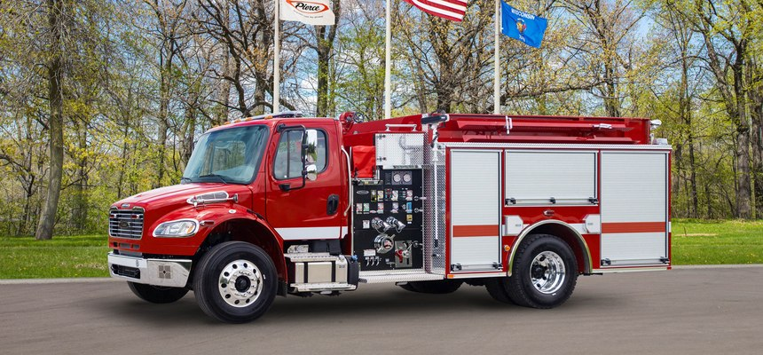 Pierce Manufacturing has secured an order for nine pumpers built on a Freightliner chassis from Dyer County Fire Department located in Northwest Tennessee. (Photo/Pierce Manufacturing)