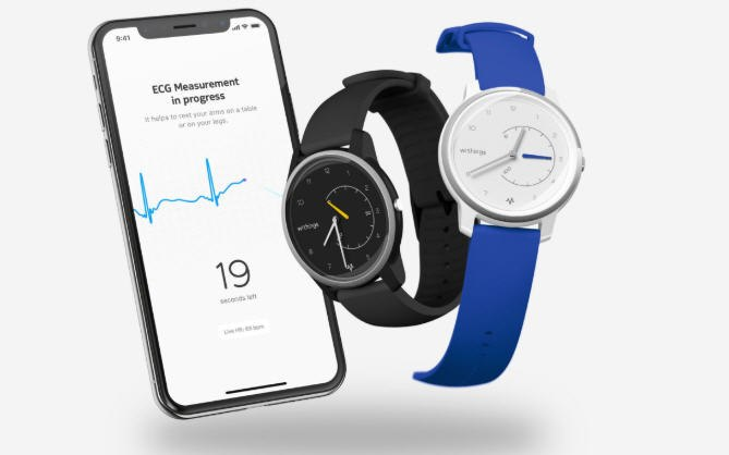 Withings Move ECG can measure electrocardiograms.