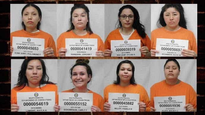 The women left the minimum-security unit at 8:43 p.m. through an exterior door, according to the DOC news release. (Photo/South Dakota Department of Corrections)