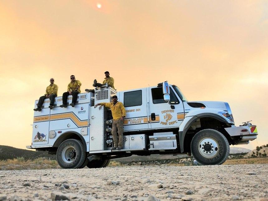 (Photo/Denver Fire Department)