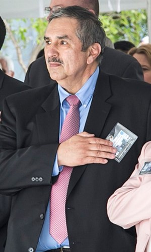 SA (Ret.) Ed Mireles pictured at the 30-year memorial service of the shooting in 2016.