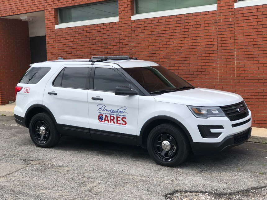 Grant money helped purchase a new vehicle for the C.A.R.E.S. program. (Photo/C.A.R.E.S.)
