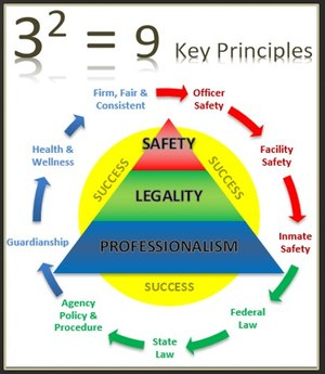 The formula is designed to guide your thoughts, decisions and actions so you develop an operational mindset where officer safety is your top priority, professionalism is your foundation and legality is your path. (Contributed Image)