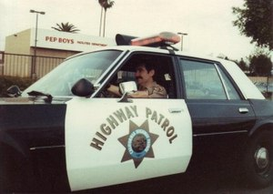 "As a member of the CHP, I quickly learned how little I knew about law enforcement. I got exposed early on to some veteran cops who ""adopted"" me, and I learned how little I knew about ""cop"" work. (Photo/Gordon Graham)"