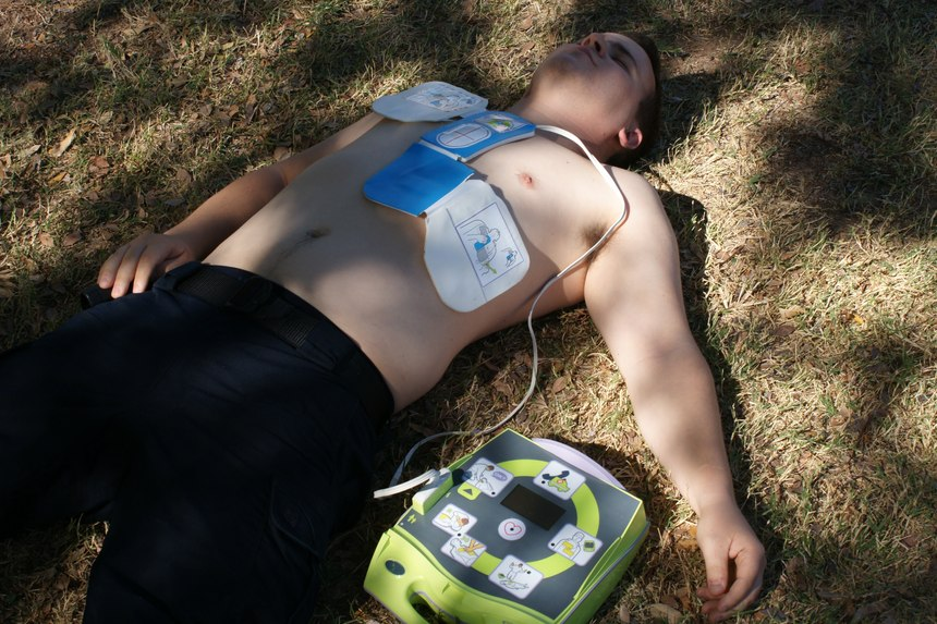 Defibrillation within three to four minutes of a sudden cardiac arrestcan increase survival by up to 70%.