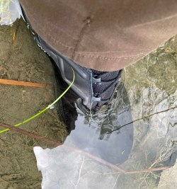 I wouldn't normally step into any water with a side zip but the GTX High Side Zip is different.