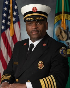 Harold Scoggins is the fire chief for the Seattle Fire Department.