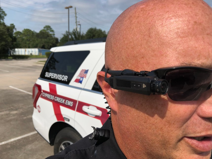 Cypress Creek EMS found the point of view perspective was most useful for reviewing provider actions in body-worn camera footage. (Photo/courtesy Cypress Creek EMS)