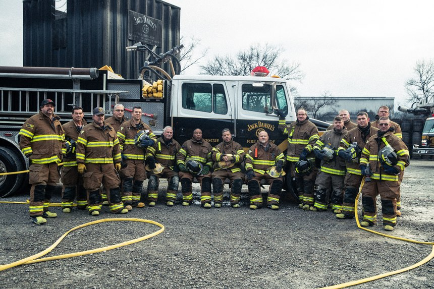 Named after Jack Daniel's famous No. 7 brand, Firehouse No. 7 is staffed by 34 distillery workers who double as volunteer firefighters. (Photo/Hollis Bennett)