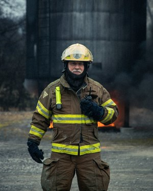 Jack Daniel's Fire Brigade Chief Fred Elliott – a fire and security specialist at the distillery – has served with the department for 14 years.