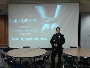 Thermopolis Officer Jessica Araiza.