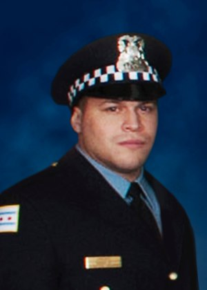 Officer Samuel Jimenez. (Lew Arceo/Chicago Police Department via AP)