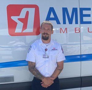 American Ambulance of Fresno California Paramedic Johnny Gage serves on the front lines of EMS.