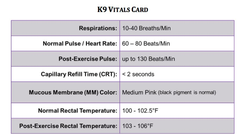 (Photo/Courtesy of http://www.k9tecc.org/assets/K9_Vitals_Card.pdf)