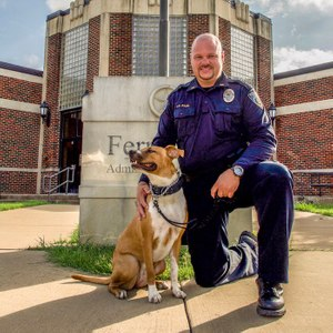 While these dogs may not fit people's preconceived notions of what a K9 should look like, they have a wide set of skills. (Photo/Animal Farm Foundation)