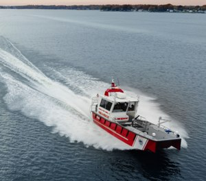 Lake Assault Boats has delivered this 28-foot fire and rescue craft to Sherrills Ford-Terrell Fire & Rescue Department in North Carolina. The vessel is serving on Lake Norman, the largest lake in the Carolinas.