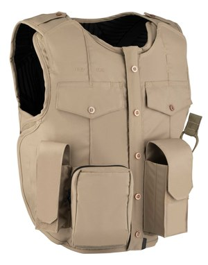 Safariland's U1 Pocket is a non-tactical looking, pouch-based carrier available in both right- and left-handed and front- and side-opening versions with an internal cummerbund.