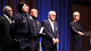 LAPD Officer Stacy Lim was shot in the heart but still fought back. (Photo/Dan Marcou)