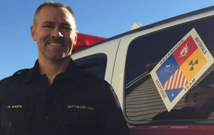 Martin Ranck is a battalion chief for the Fairfax County Fire and Rescue Department and its Hazardous Materials Response Team.