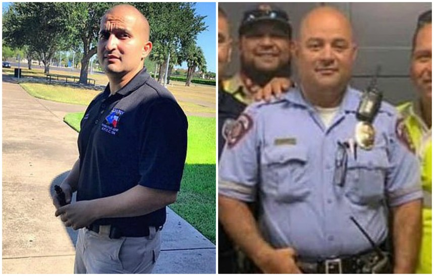 Police Officer Ismael Chavez (left) andPolice Officer Edelmiro Garza, Jr. were ambushed and killed on July 11, 2020. (Photos/ODMP)
