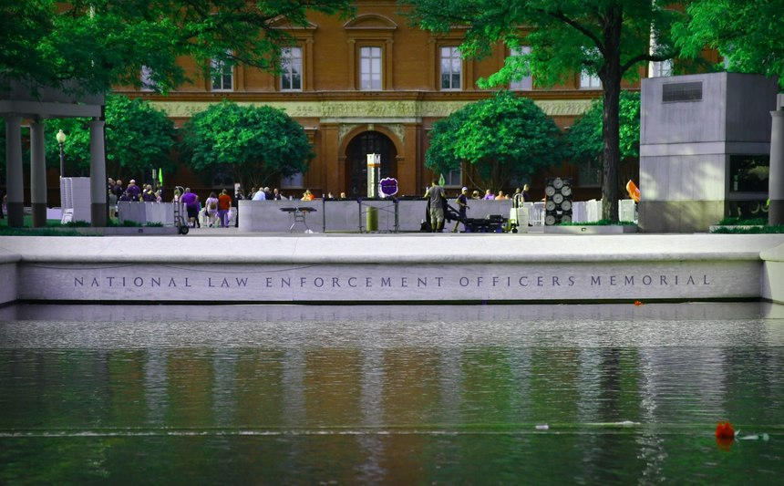 Fundraising remains a key component of the National Law Enforcement Memorial and Museum. (Photo/Police1)