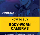 Download this Police1 body-worn camera buying guide to learn key steps for product selection, purchasing and implementation