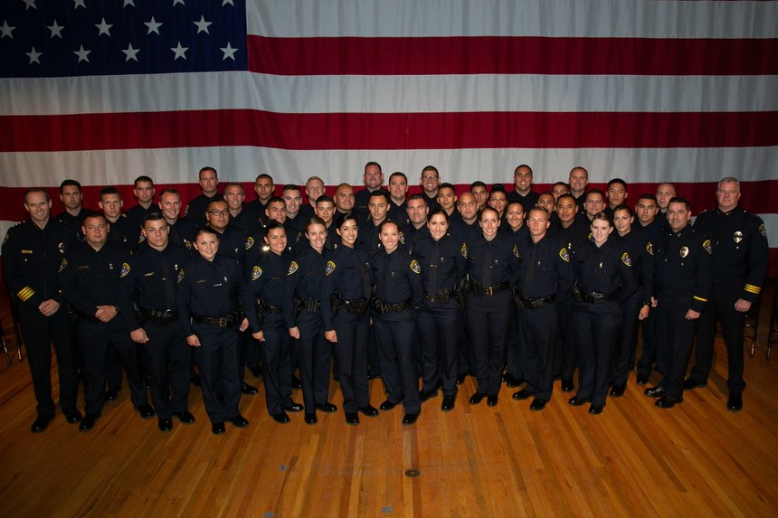 A look at one class of police recruits eager to protect the communities they serve. (image/GovX)
