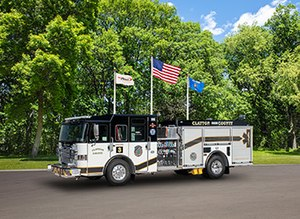 Pierce Manufacturing has secured an order for eight custom EnforcerPumpers from Clayton County Fire and Emergency Services, adding to the department's 100 percent Pierce fleet.