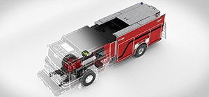 Rochester Fire Department has taken delivery of a PierceVelocity100' Heavy-Duty Aerial Platform featuring new idle reduction technology.