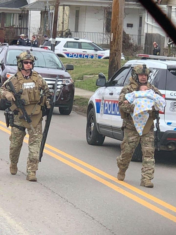 Photo/Sgt. Steve Redding, Columbus Police K9 Unit