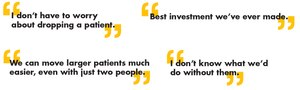 The following quotes are statements made by employees of MedStar Mobile Healthcare, provided by Risk and Safety Manager, MedStar Mobile Healthcare. (image/Stryker)Mkt Lit-1523 11 OCT 2017 Rev A.5
