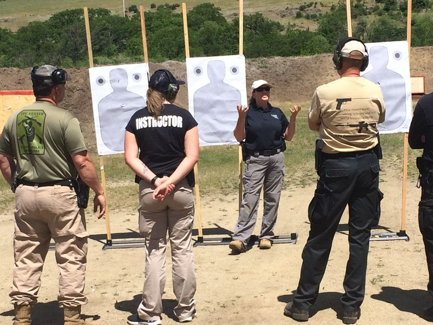Instructors should provide a detailed explanation and description of each drill so officers understand the performance objectives and standards for that particular drill.