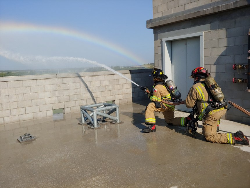 Denton (Texas) Fire/Rescue Department Firefighter Gary Weiland is using his experience to reach others who may be in the same situation.