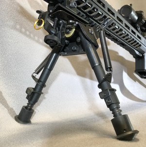 The Truglo bipod comes in a few different variations to suit your needs and is very affordable.