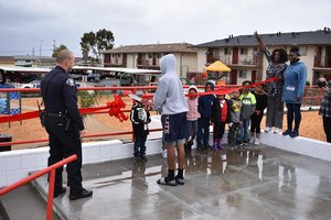 In January 2019, the new Del Monte Manor playground opened thanks to a collaborative effort between residents and the City of Seaside police and fire departments.