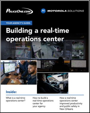 Your agency's guide to building a real-time operations center (eBook cover)