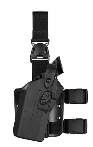 The Safariland 7TS RDS holsters are constructed with durable SafariSeven™ material. (Photo/Safariland Group)