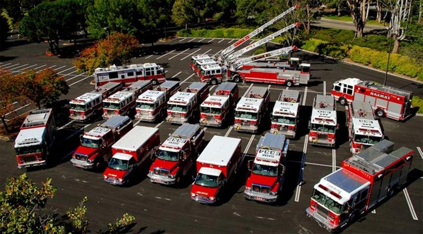 A fire serviceengineer must know their vehicle forwardand backward.